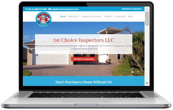 Sample Home Inspection Websites Home Inspector Marketing