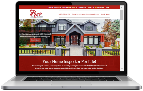 Home Inspection Website Template