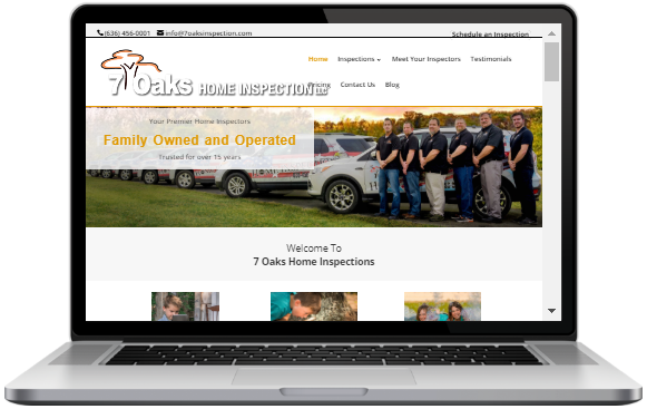 Website Design for Home Inspectors