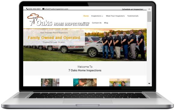 Website Design for Home Inspectors