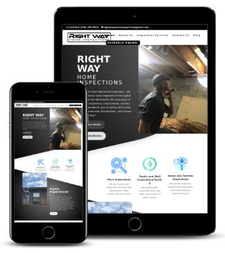 Home Inspector Website Design